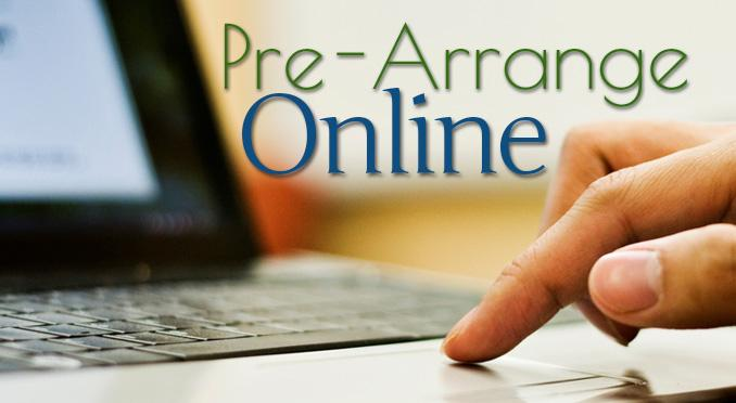 Pre-Arrange your funeral online through Fee & Sons Funeral Home